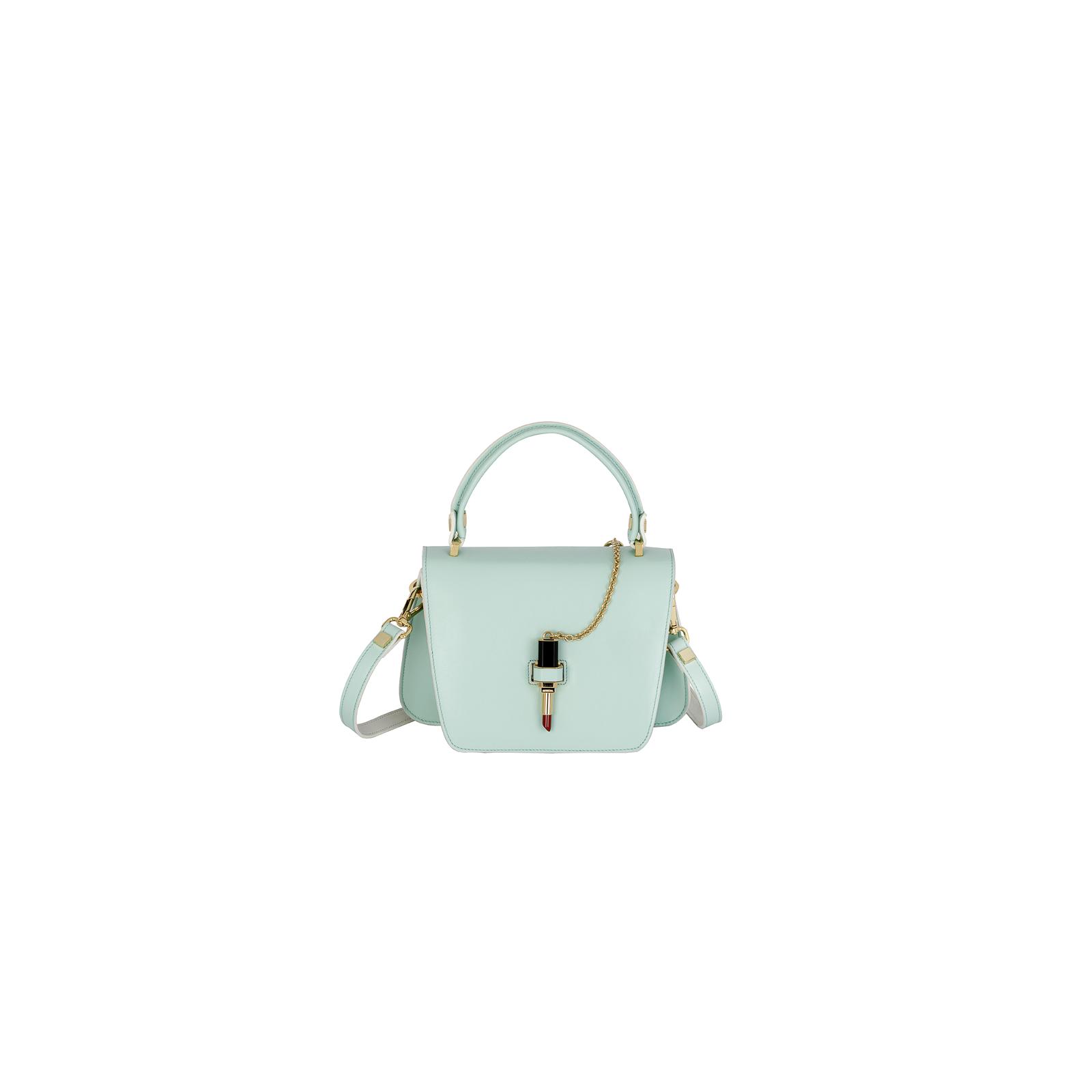 Mini Queen Bag Var Light Turquoise Giancarlo Petriglia